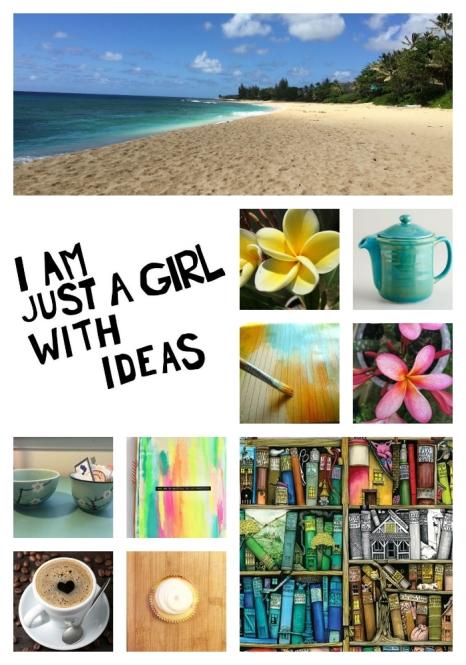 Blog moodboard